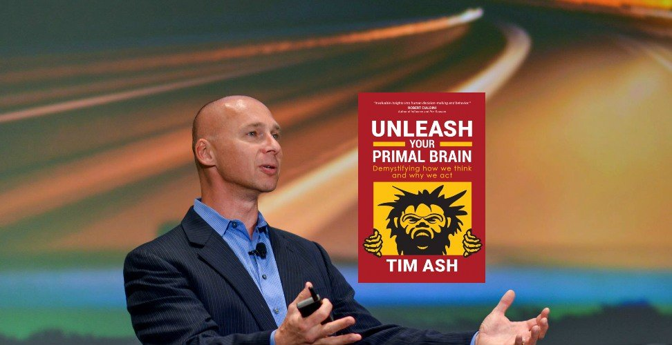 Unleash Your Primal Brain - autographed - US shipping